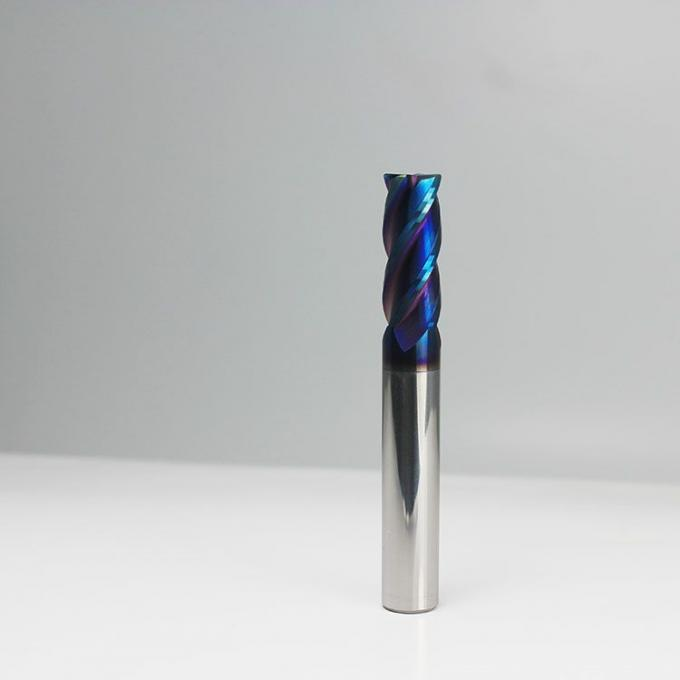 10mm Solid Tungsten Carbide End Mill For Metal Long Working Lifespan