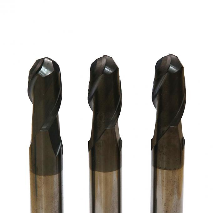 Flat 6mm Carbide End Mill Overall Length 50-150 ISO Certification