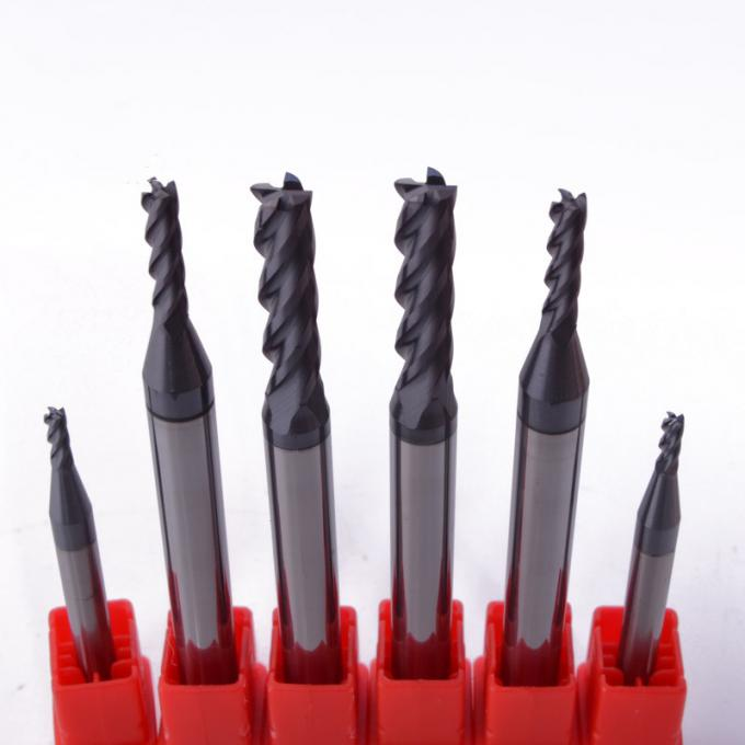 Solid Carbide Tapered End Mills Long Working Lifespan Eco - Friendly