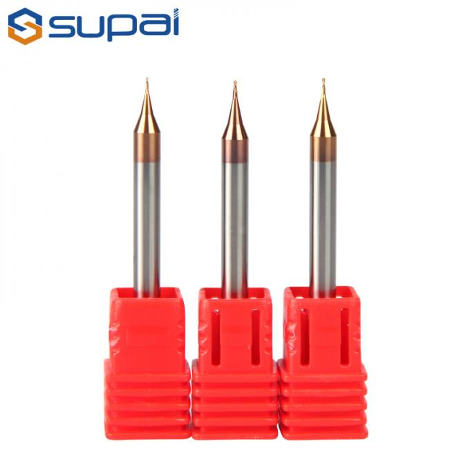 1 - 20 Mm Dia Carbide Ball End Mill / Ball Nose Cutter For Processing Alloy