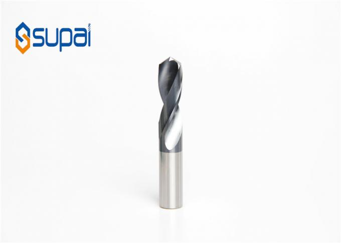 Stable Shank Drill Bit For Stainless Steel Machining / Customized Step Bits For Steel