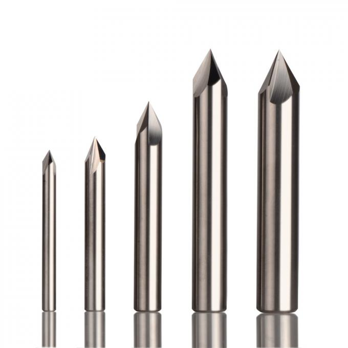 Straight Shank Carbide End Mill 90 Degree For Deburring And Chamfrering