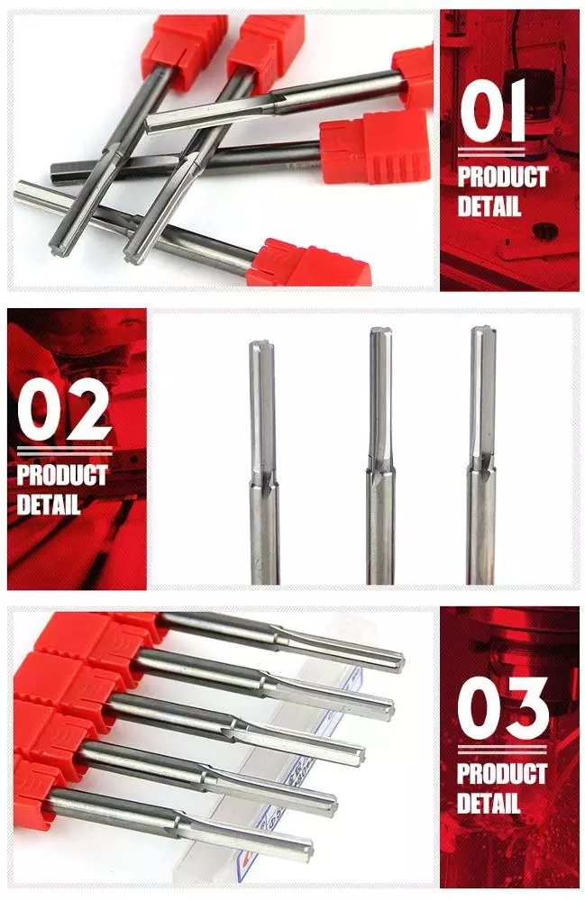 Solid Heat Resistant Carbide End Mill Kyocera Cutting Tools Reamer Machine Drilling Bit