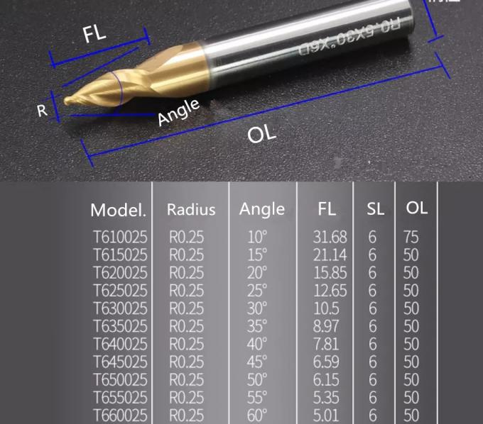 End mill of tungsten steel coated with hot melt pressing wheel