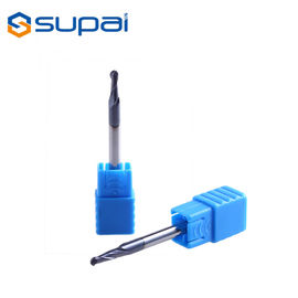 China HRC55 4 Flute Carbide Ball Nose End Mill Manufacturer In China for CNC Milling supplier