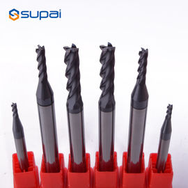 China Solid Carbide Tapered End Mills , CNC End Mills For Wood ODM Service factory
