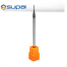 China 45 Degree Miniature Carbide End Mills For Stainless Steel And Cast Iron supplier