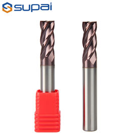 1-20mm Solid Carbide 1 MM End Mill Cutter 4 Flute TiAlN Coating Feature