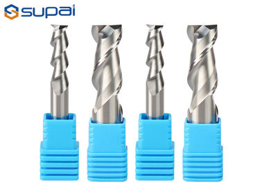 High Precision Four Flute Aluminum Cutting End Mills AlTiN Coating