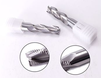 High Precision Carbide 3 Flute Rough End Mill Cutter For Aluminum Cnc Carbide Coating