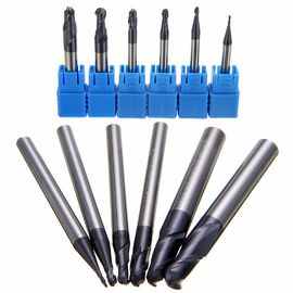 AlTiN Coating Ball Nose Long End Mill Hardness 50 55 60 65 AOL 150 mm