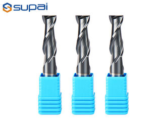 Alloy Steel / Hardened Steel Square End Mill Micro Grain Carbide End Mill