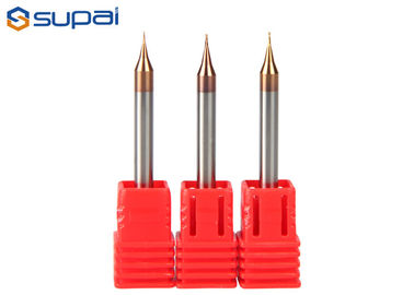 Cnc Cutting Tools Micro End Mills 2 Flutes Tungsten Carbide Material For High Hardness Cutting