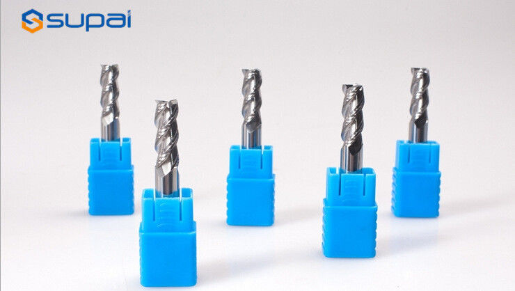 High Speed Steel Corner Radius End Mill Cutter For Aluminum Carbide Material supplier