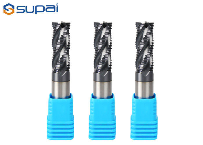 Roughing End Mill Cutter For Stainless Steel HRC 45 55 60 65 supplier