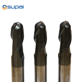 China 1-20mm Carbide Tapered Ball End Mills 100% Virgin Tungsten Carbide factory