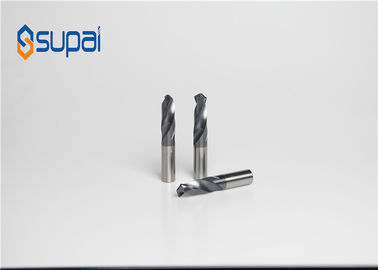 China CNC Process 2 Flute Aluminum Cutting End Mills With Coating Custom Made factory