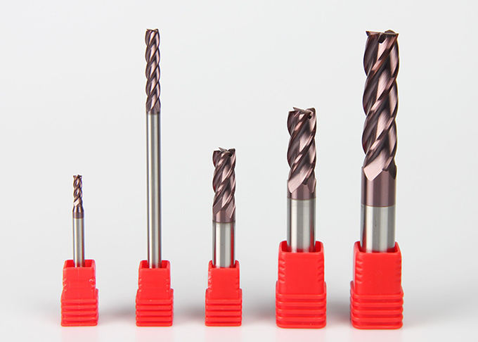 HRC 45-65 0.1mm Solid Carbide End Mill For Wood Aluminum Steel Stainless Steel